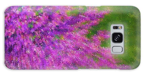 Purple Bush Galaxy Case