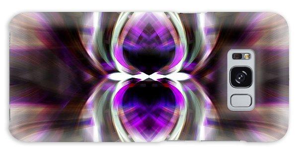 Purple Butterfly Galaxy Case by Cherie Duran
