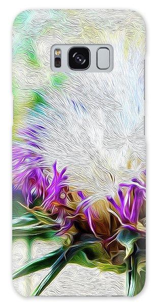 Purple Chaparral  Galaxy Case
