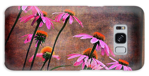 Purple Coneflowers Out Of Alignment  Galaxy Case
