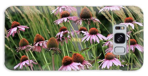 Purple Coneflowers Galaxy Case