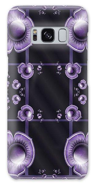 Purple Dimensions Galaxy Case