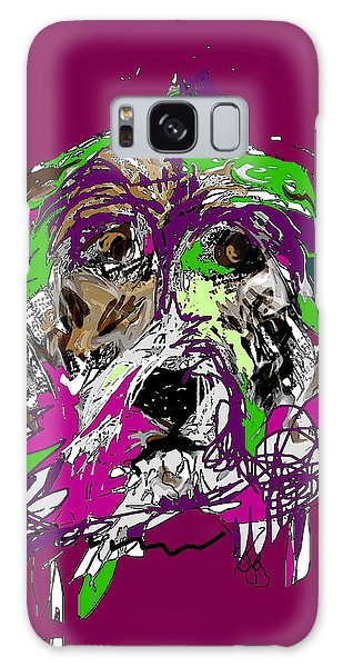 Purple Dog Galaxy Case