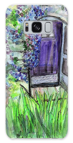Purple Doorway Galaxy Case