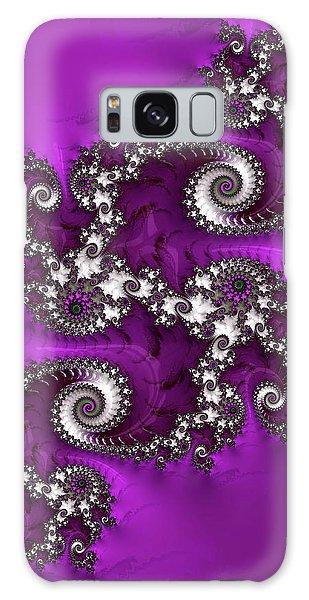 Purple Dragon Galaxy Case