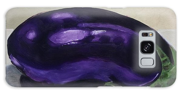 Purple Eggplant Galaxy Case