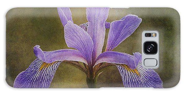 Purple Flag Iris Galaxy Case by Patti Deters
