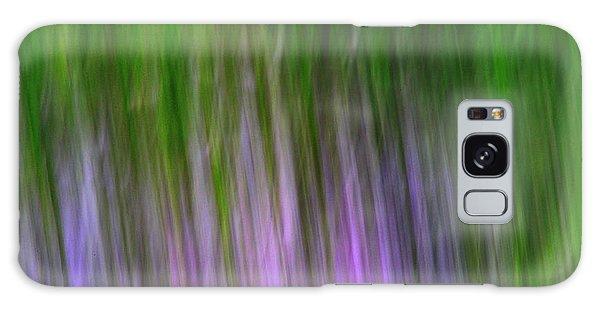 Purple Flames Galaxy Case