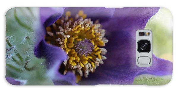 Purple Fleece Galaxy Case