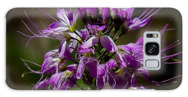 Purple Flower 1 Galaxy Case