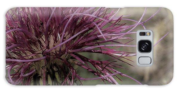 Purple Flower 2 Galaxy Case