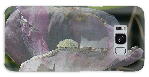 Purple Flower 4 Galaxy Case