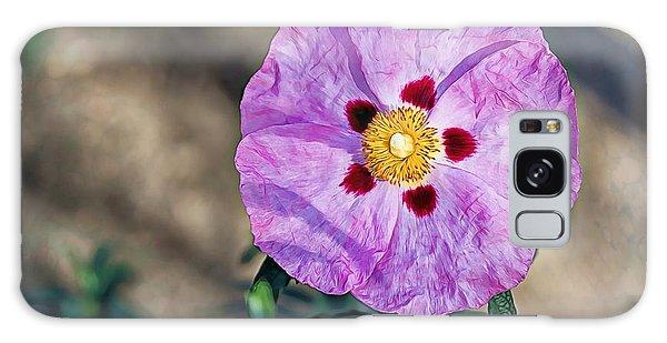 Purple Rockrose Galaxy Case