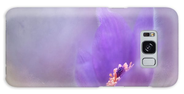 Purple Flower Galaxy Case