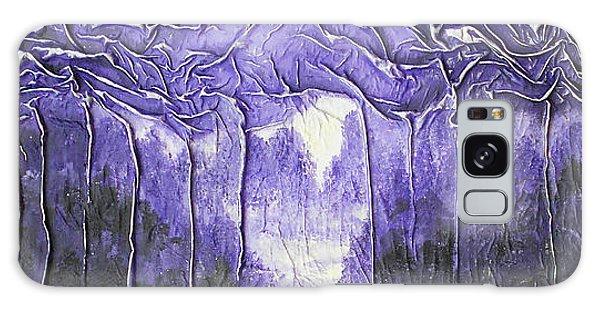 Purple Forest Galaxy Case
