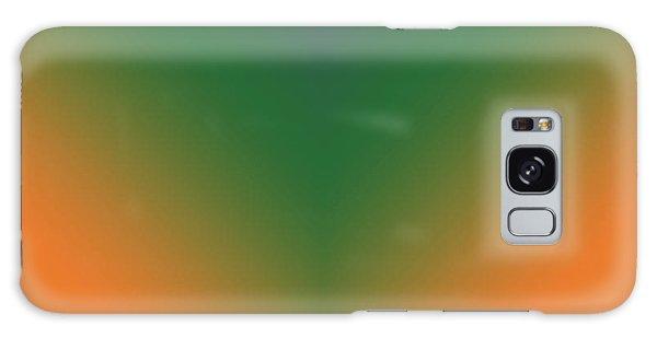 Purple, Green And Orange Galaxy Case