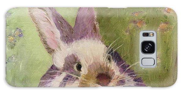 Purple Hare Galaxy Case