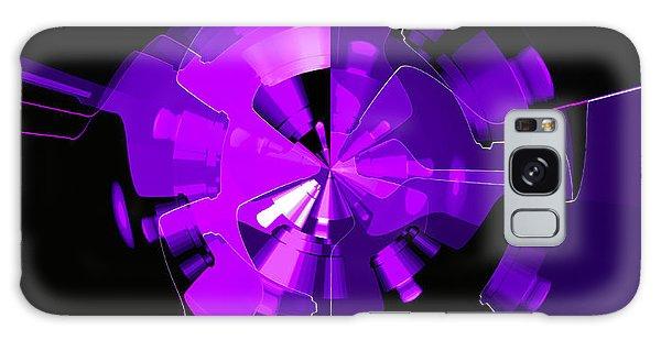 Galaxy Case - Purple Haze Wheels by Digital Painting