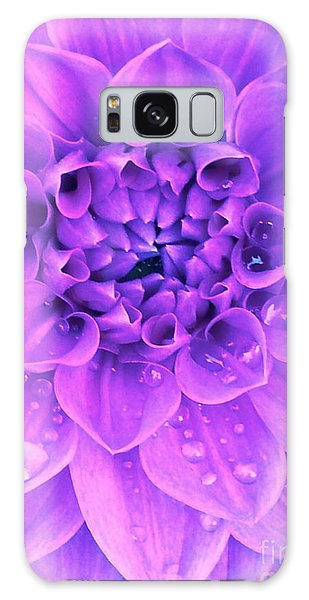 Purple Too Galaxy Case by Cathy Dee Janes