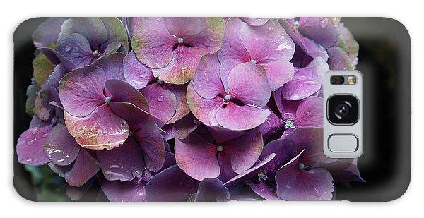 Greeting Galaxy Case - Purple Hydrangea- By Linda Woods by Linda Woods