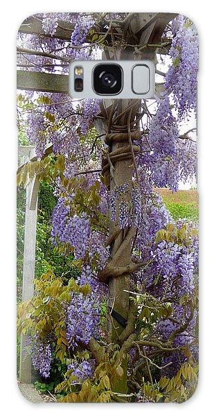 Purple In Priory Park Galaxy Case