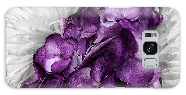Purple In The White Galaxy Case