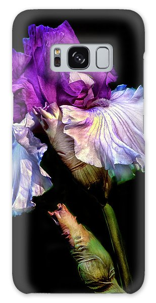 Purple Iris Galaxy Case