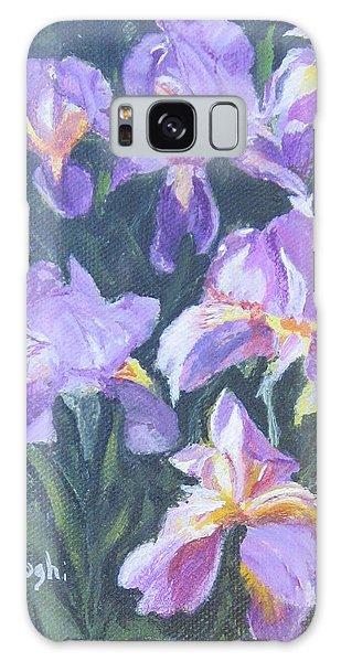 Purple Iris Galaxy Case