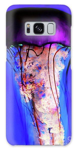 Purple Jellyfish Galaxy Case