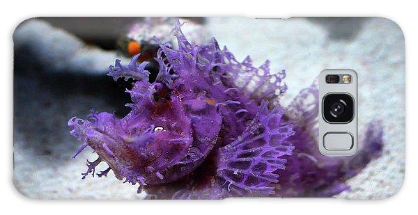 Purple Lace Galaxy Case