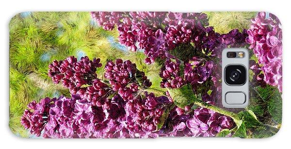 Purple Lilac 1 Galaxy Case