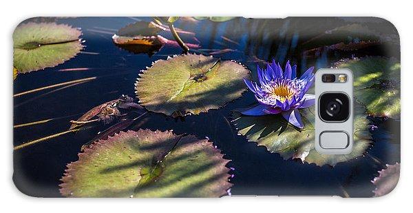Purple Lily Galaxy Case
