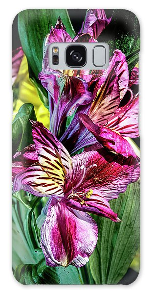 Purple Lily Galaxy Case