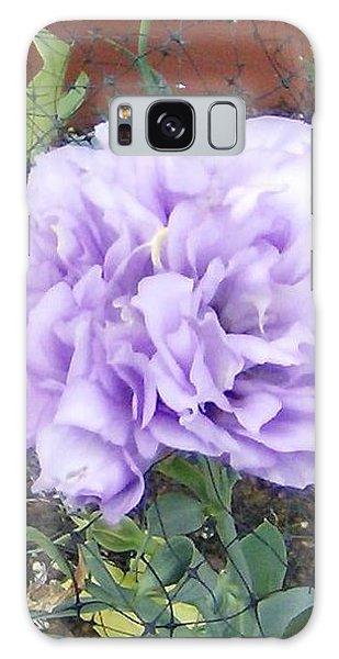 Purple Lisianthus Galaxy Case