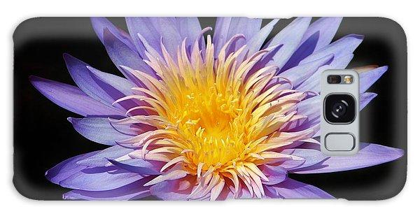 Purple Lotus Galaxy Case