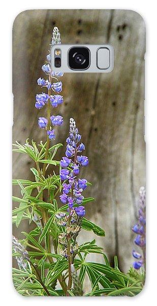 Purple Lupine Galaxy Case