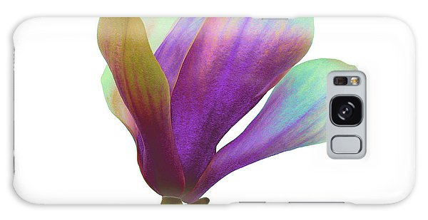 Purple Magnolia Galaxy Case