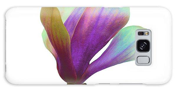 Purple Magnolia Galaxy Case