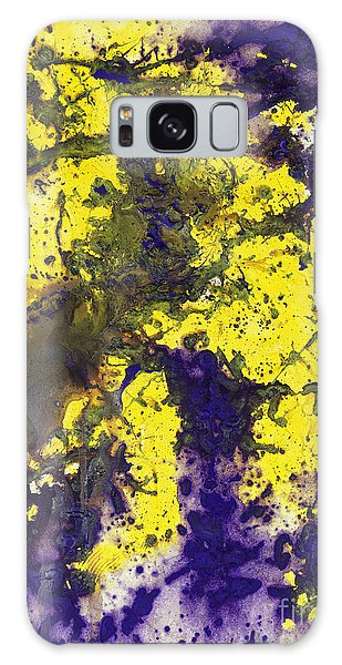 Purple Married Yellow Galaxy Case