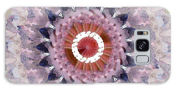 Fractal Design Galaxy Case - Purple Mosaic Mandala - Abstract Art By Linda Woods by Linda Woods