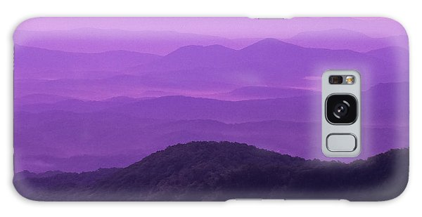 Purple Mountains Galaxy Case