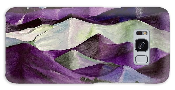 Purple Mountains Majesty Galaxy Case