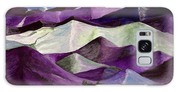 Purple Mountains Majesty Galaxy Case by Kim Nelson