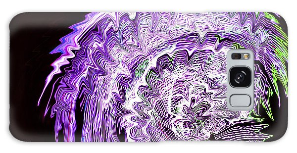 Purple Mushroom Galaxy Case