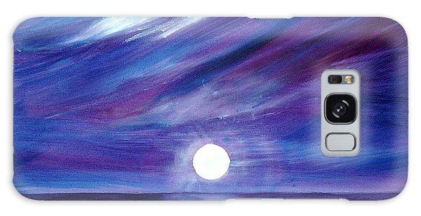 Purple Night Galaxy Case