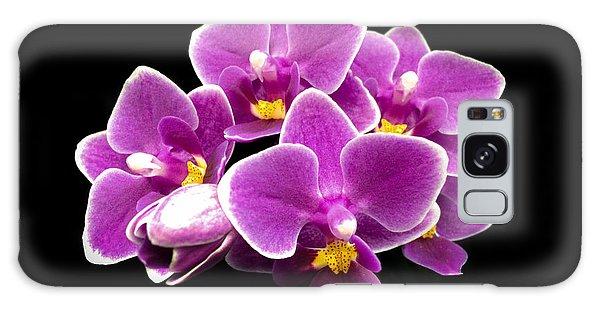 Purple Orchid Galaxy Case