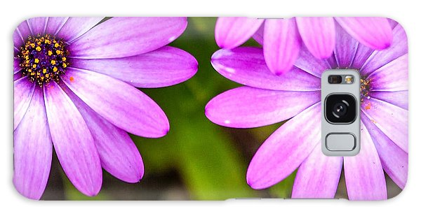 Calendar Galaxy Case - Purple Petals by Az Jackson