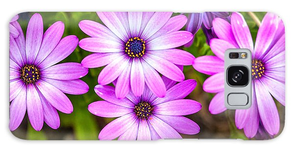 March Galaxy Case - Purple Pals by Az Jackson