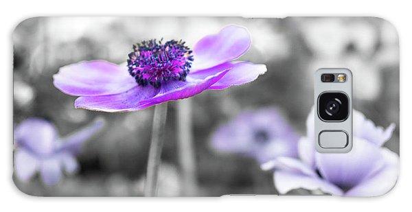 Purple Petals Galaxy Case