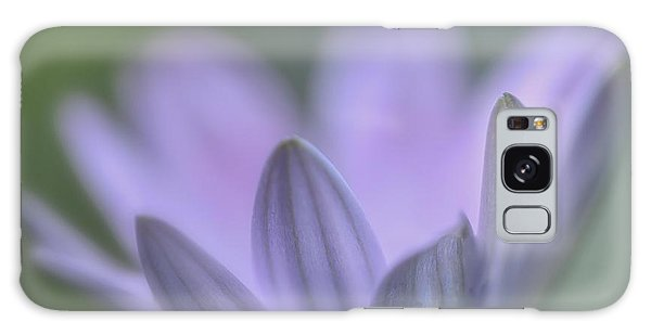 Purple Petals Galaxy Case